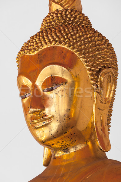 Buddha statue head close up, Thailand Stock photo © dmitry_rukhlenko
