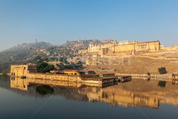 Amer (Amber) fort, Rajasthan, India Stock photo © dmitry_rukhlenko