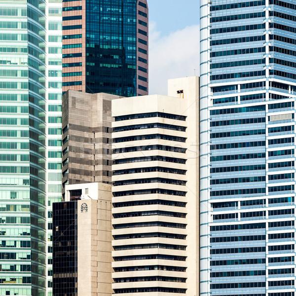 Urban buildings Stock photo © dmitry_rukhlenko