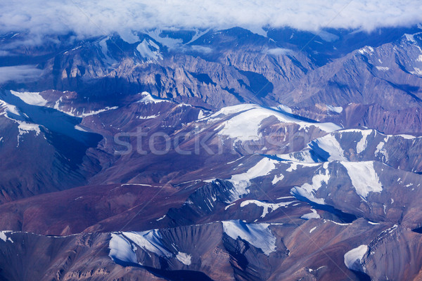 Himalayas mountains aerial view Stock photo © dmitry_rukhlenko