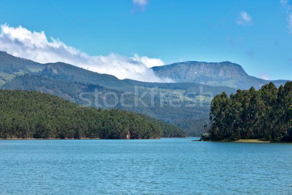 Mountain lake Stock photo © dmitry_rukhlenko