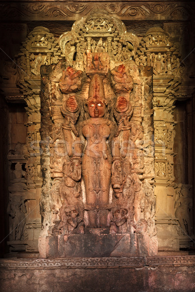 Lakshmi Hindu Goddess Image statue Stock photo © dmitry_rukhlenko