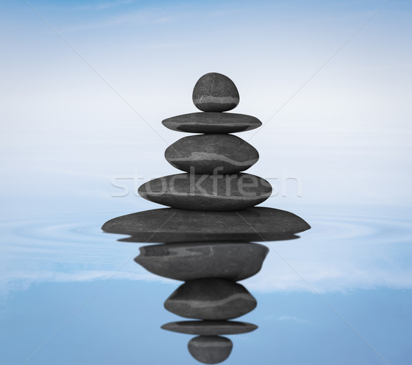 Zen stones balance concept Stock photo © dmitry_rukhlenko