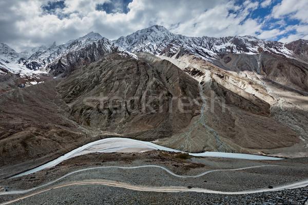 View of Himalayas, India Stock photo © dmitry_rukhlenko