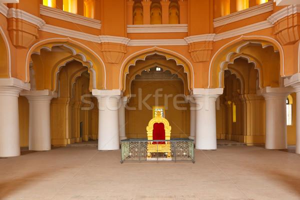Palais Inde asian tribunal roi arc Photo stock © dmitry_rukhlenko