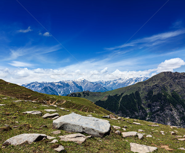 Himalaia Índia viajar acima vale montanhas Foto stock © dmitry_rukhlenko