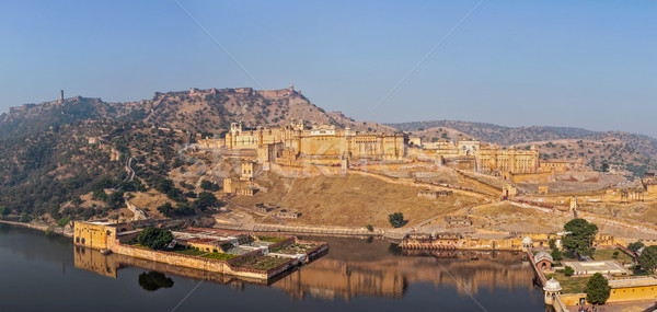 ámbar fuerte India famoso mojón agua Foto stock © dmitry_rukhlenko