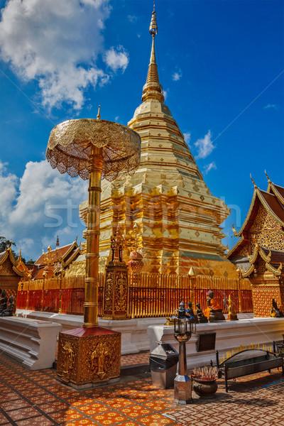 Wat Phra That Doi Suthep. Chiang Mai, Thailand Stock photo © dmitry_rukhlenko