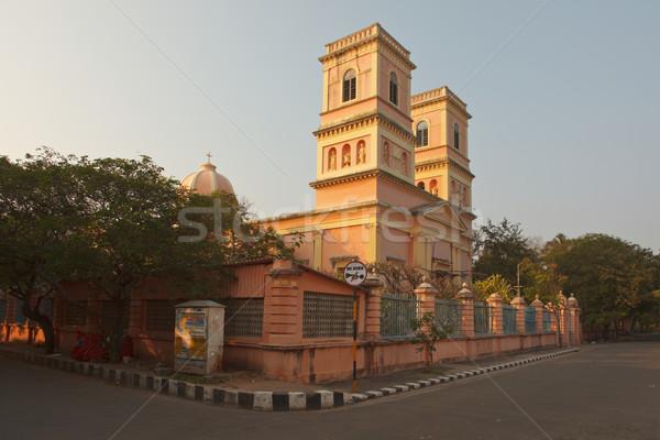 Notre Dam de Anges. Pondicherry, India Stock photo © dmitry_rukhlenko