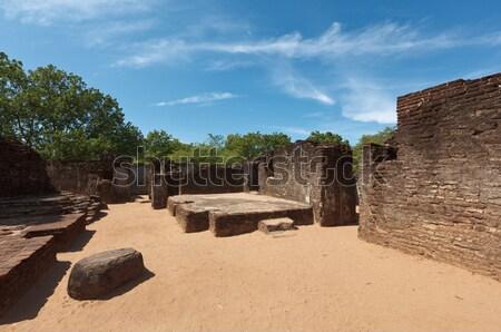 Stock photo: Ruins. Ancient city of Polonnaruwa. Sri Lanka