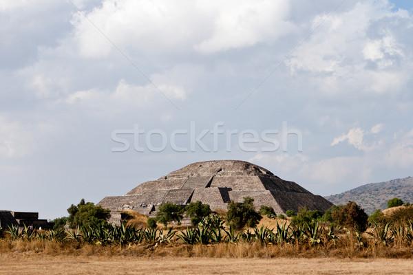 Teotihuacan Pyramids Stock photo © dmitry_rukhlenko