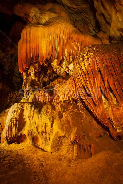 Métro Rock grotte montagne Voyage pierre Photo stock © dmitry_rukhlenko