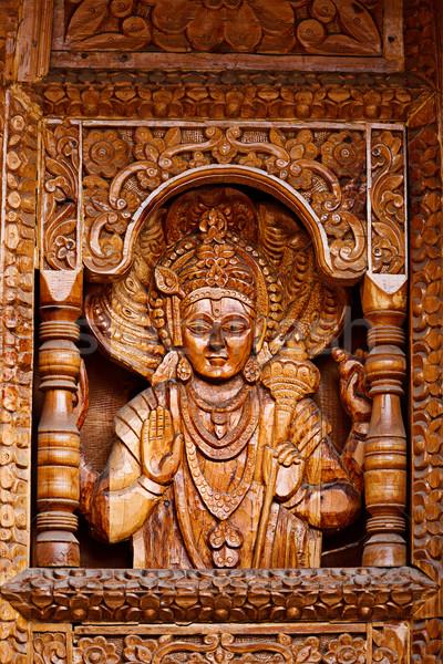 Hout tempel kunst god godsdienst Stockfoto © dmitry_rukhlenko