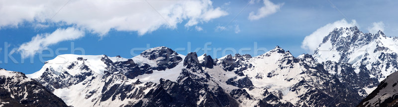 Himalayas bergen hemel wolk Stockfoto © dmitry_rukhlenko