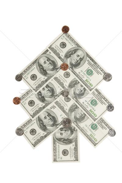 Dolarów odizolowany biały ceny Zdjęcia stock © dmitry_rukhlenko