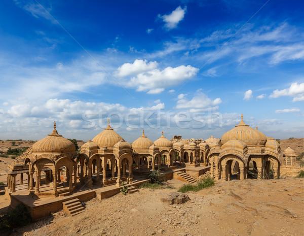 Indië stad reizen indian graf Stockfoto © dmitry_rukhlenko