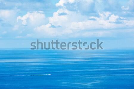 Száguld csónak tenger kék Thaiföld égbolt Stock fotó © dmitry_rukhlenko