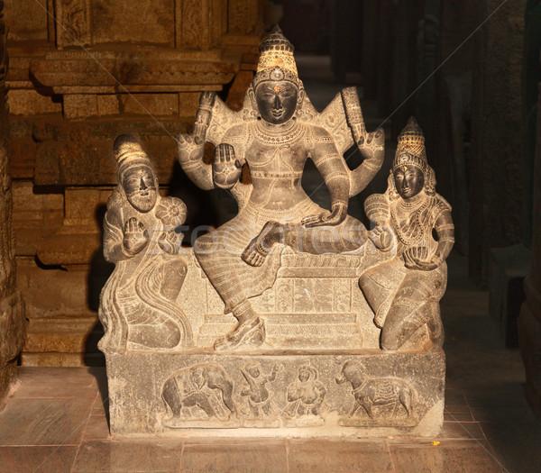 Shiva statue Stock photo © dmitry_rukhlenko