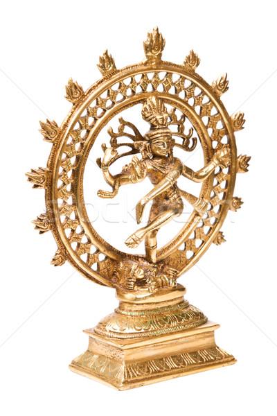 Statue of Shiva Nataraja - Lord of Dance isolated Stock photo © dmitry_rukhlenko