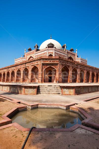могилы Дели Индия каменные архитектура индийской Сток-фото © dmitry_rukhlenko