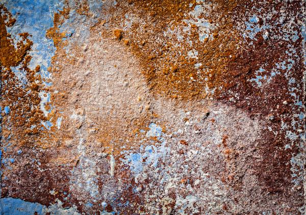 Pintado yeso pared textura grunge negro Foto stock © dmitry_rukhlenko
