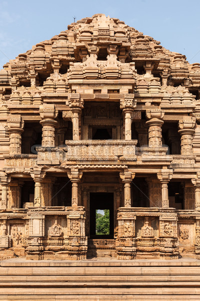 Foto stock: Templo · fuerte · diseno · arte · rock · arquitectura