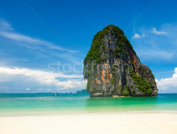Pranang beach. Krabi, Thailand Stock photo © dmitry_rukhlenko