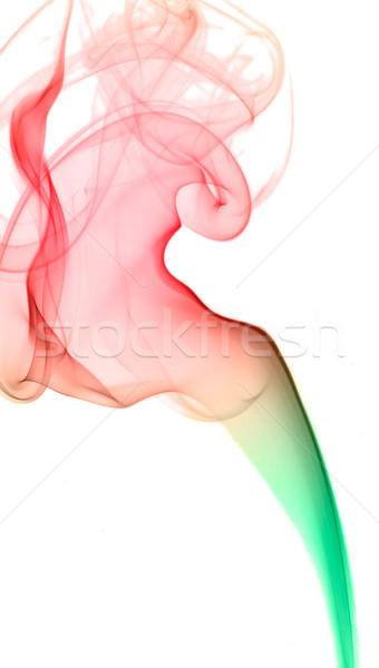 Colorato fumo isolato bianco abstract movimento Foto d'archivio © dmitry_rukhlenko