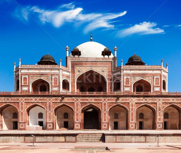 Sír Delhi India unesco világ örökség Stock fotó © dmitry_rukhlenko