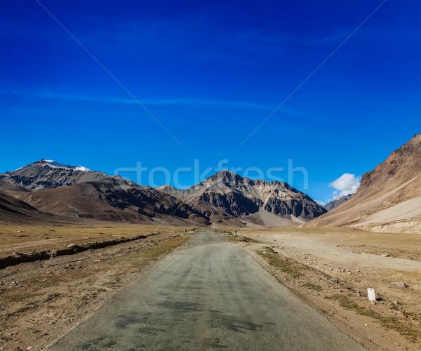 Weg indian himalayas berg bergen pad Stockfoto © dmitry_rukhlenko