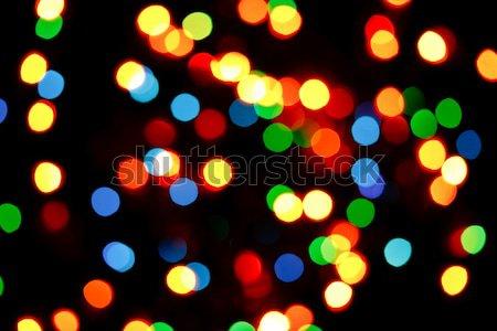 Luzes luz fundo noite padrão fundos Foto stock © dmitry_rukhlenko