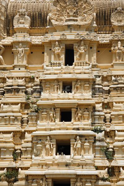 Gopuram (tower) of Hindu temple  Stock photo © dmitry_rukhlenko