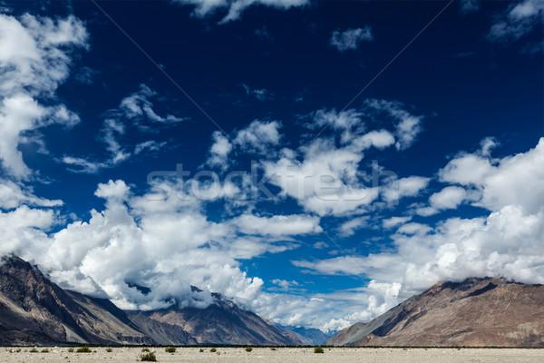 Vale himalaia Índia céu acima paisagem Foto stock © dmitry_rukhlenko