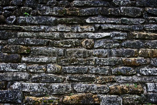 Antigo stonewall textura edifício Foto stock © dmitry_rukhlenko