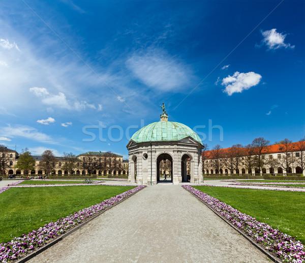 Munique Alemanha natureza gramado cenário jardins Foto stock © dmitry_rukhlenko
