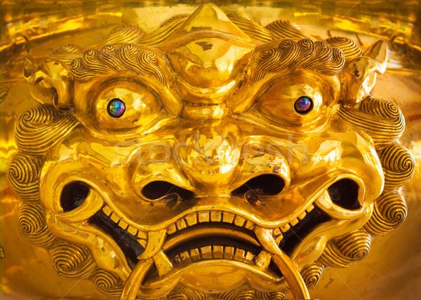 Китайский дракон статуя скульптуры Сток-фото © dmitry_rukhlenko