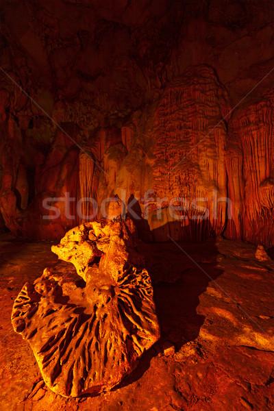 Underground caves Stock photo © dmitry_rukhlenko