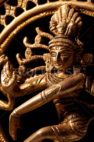 Statue of indian hindu god Shiva Nataraja - Lord of Dance Stock photo © dmitry_rukhlenko