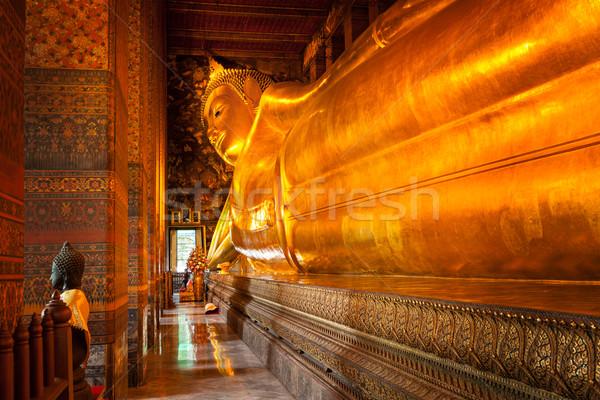 Foto d'archivio: Buddha · Thailandia · oro · statua · Bangkok · corpo