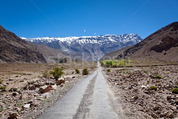 út Himalája hegyek völgy természet Stock fotó © dmitry_rukhlenko