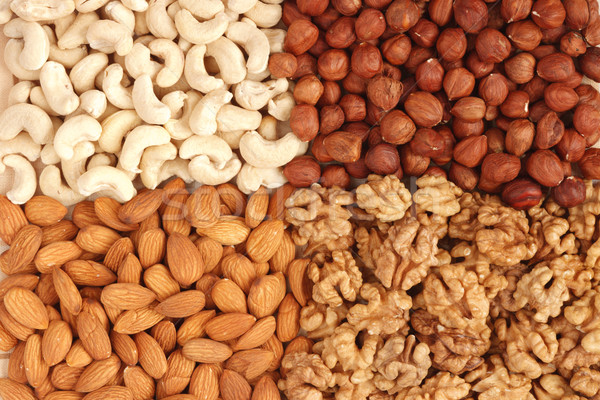 различный орехи текстуры природы жира Сток-фото © dmitry_rukhlenko