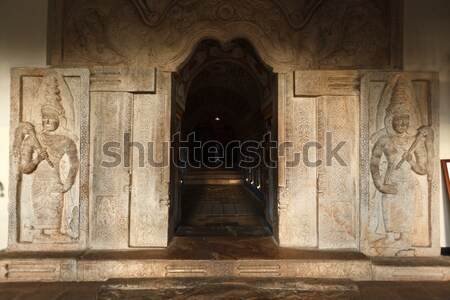 Entrance of Temple of the Tooth. Sri Lanka Stock photo © dmitry_rukhlenko