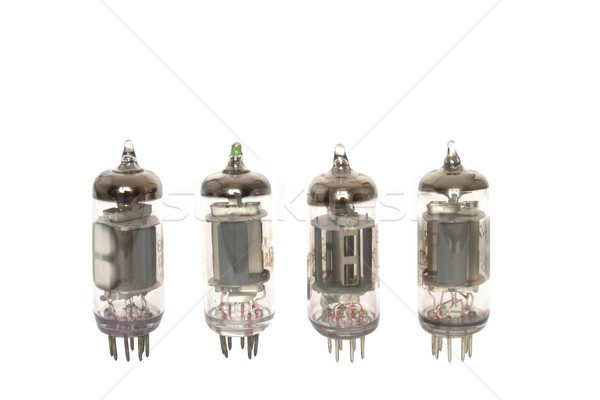 Old vacuum tubes Stock photo © dmitry_rukhlenko
