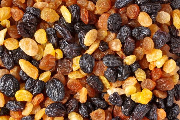 Mixed raisins close up Stock photo © dmitry_rukhlenko