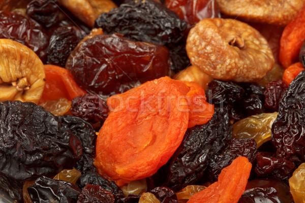 Stock fotó: Különböző · aszalt · gyümölcsök · közelkép · datolya · mazsola