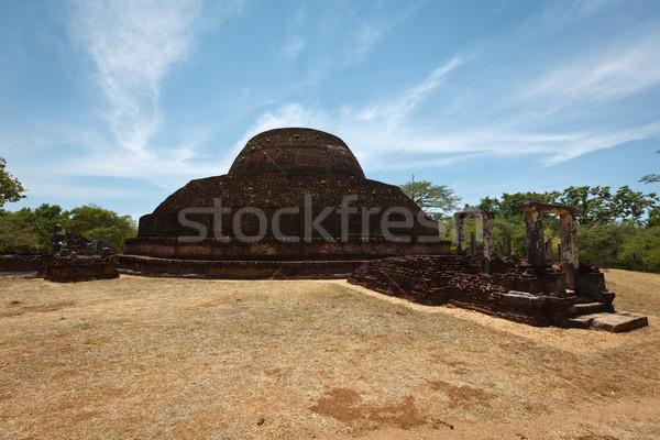 древних Шри Ланка город небе облака Сток-фото © dmitry_rukhlenko