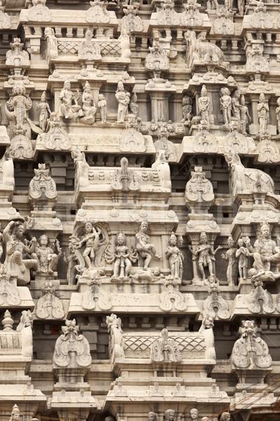 Tower of  Arunachaleswar Temple. Tiruvannamalai, Tamil Nadu, Ind Stock photo © dmitry_rukhlenko