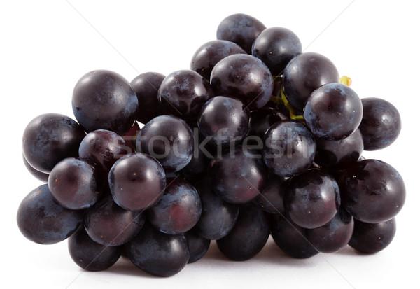 Bunch of black grapes isolated Stock photo © dmitry_rukhlenko