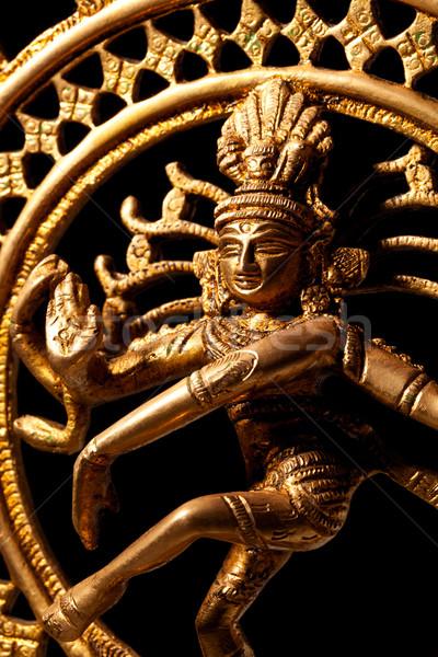 Statue of indian hindu god Shiva Nataraja - Lord of Dance Stock photo © dmitry_rukhlenko