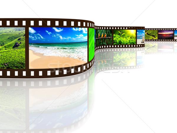 Photo film with reflection Stock photo © dmitry_rukhlenko